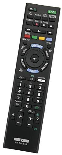 ALLIMITY RM-ED061 Fernbedienung Ersatz für Sony Bravia TV KDL-60W855B KDL-55W805B KDL-50W828B KDL-50W815B KDL-42W815B KDL-42W706B KDL-42W650A KD-70X8505B KD-65X8505B KD-55X9005B