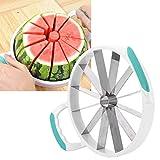 Taglierina per anguria, utensile per tagliare frutta, impugnatura antiscivolo Resistente portatile per melone