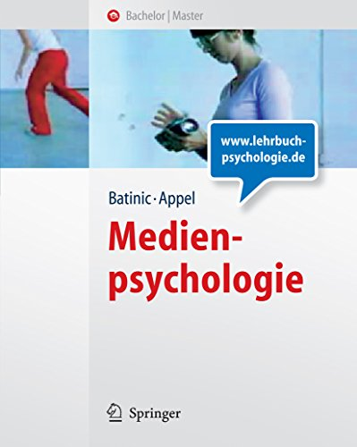 Medienpsychologie (Springer-Lehrbuch)