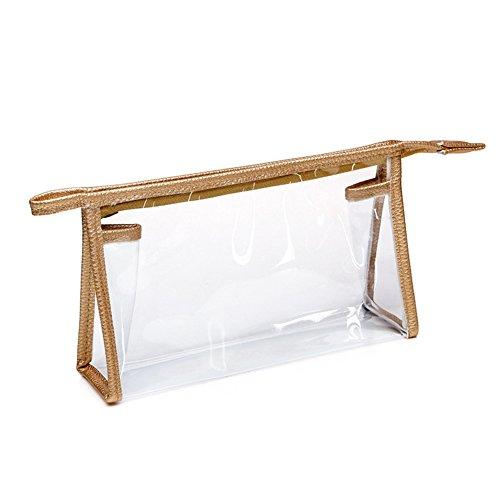 Trousse de toilette étanche en PVC transparent
