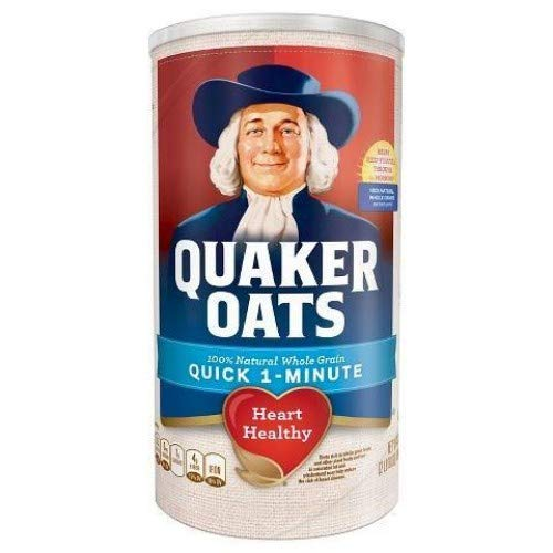 Quaker(クエーカー) オートミール ワンミニッツ 510g [並行輸入品]