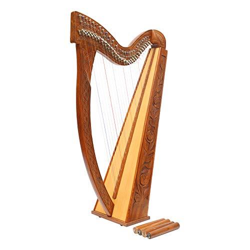 27 Saiten Boru Harfe Palisander