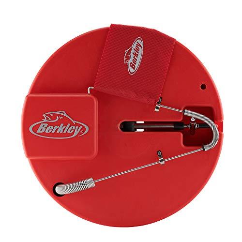 Berkley Insulated Round Ice Fishing Tip Up, Red, 10'