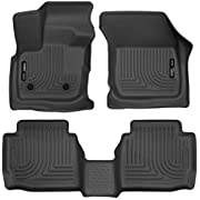 Husky Liners 98791 Weatherbeater Series Front & 2nd Seat Floor Liners, Black
