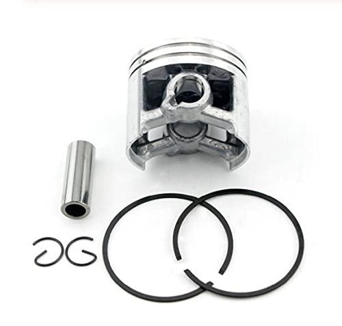 LIBEI Kit de Anillo de Anillo de Pasador de pistón de 50mm Apto para Stihl 044 MS440, Cilindro de Motosierra de Gasolina y Gasolina, Pieza de Repuesto OEM # 1128030 2015