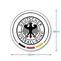 ドイツ代表 ミニステッカー(携帯シール)
