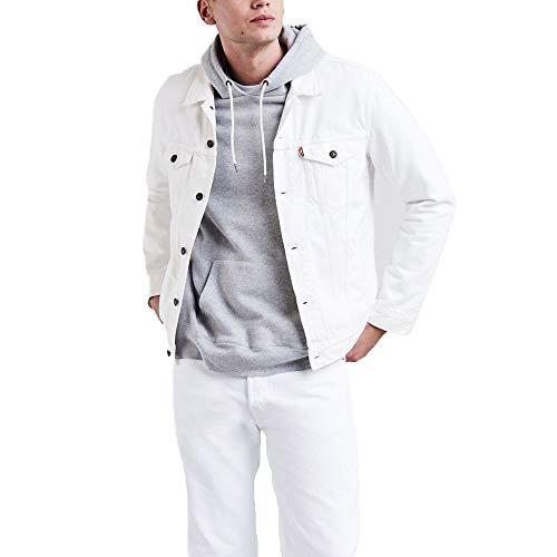 Levis Mens Trucker Jacket Outerwear, -steel hour, XL