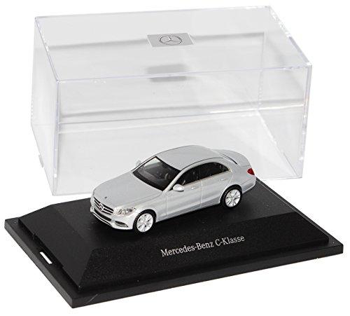 Herpa Mercedes-Benz C-Klasse Limousine Iridium Silber W205 Ab 2014 H0 1/87 Modell Auto mit individiuellem Wunschkennzeichen