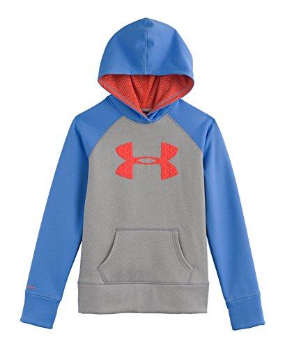 Under Armour Girls\' Armour Fleece Storm Big Logo Hoody