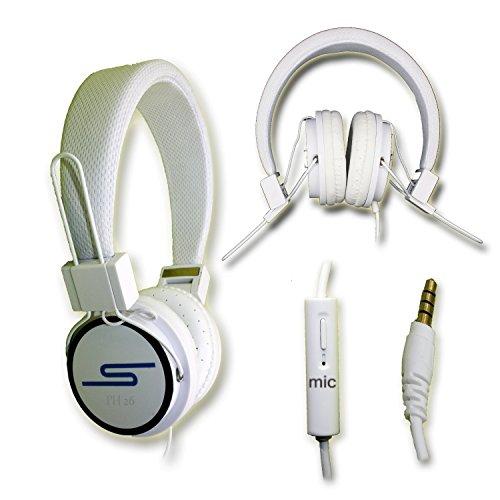 Auricolari Stereo extra-bass Clear Sound con funzione MICRO + Telecomando per Wacom Intuos4XL DTP by PH26