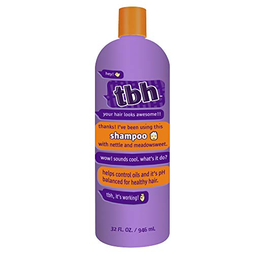 TBH Kids Shampoo - Shampoo for Oily Hair - Sulfate, Paraben Free - 32oz