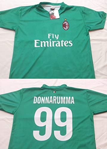 AC Milan Camiseta réplica Oficial donnarumma Milan 2017/2018–Producto Oficial, 2 años