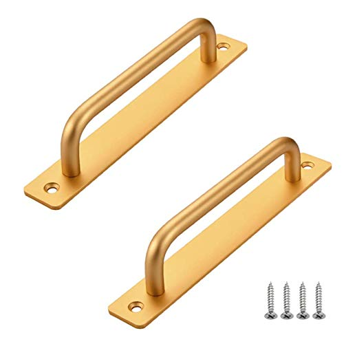 2 pcs Tiradores para Muebles,Manijas de Aleación de Aluminio para Puertas, Manijas para Gabinetes de Cocina, Manijas para Cajones de Baño,...