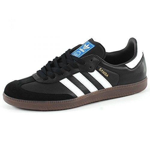adidas Samba OG, Zapatillas Hombre, Negro (Core Black/Footwear White/gum5), 40 2/3 EU