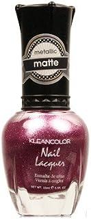 (6 Pack) KLEANCOLOR Matte Nail Lacquer - Flower Boutique (並行輸入品)