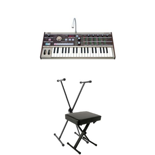 Why Choose Korg microKORG Portable Synthesizer Bundle with Stand and Bench