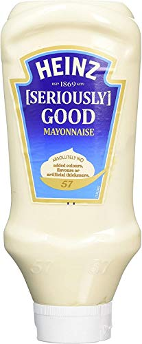 Heinz Seriously Good Mayonaise 775g, romig en soepel gemaakt met alleen de beste kwaliteit ingrediënten, 4 stuks