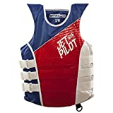 Jet Pilot Matrix Nylon CGA Vest-S/M-RED/Blue Adult Water Life Jacket Vest for Extreme Sports Boat Kayak Paddling Use and Safety Sports Vests for Men and Women