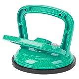 Bediffer Estrattore ad aspirazione Verde 113 x 122 mm Sollevatore di Vetro per Utensili in Movimento per tavola di Legno