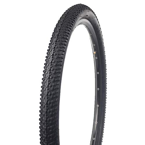 BUCKLOS 【US Stock】 24/26/27.5'' x 1.95/2.1 Mountain Bike Tires, Bike Cross Country Tires 24/26/27.5, All Terrain Bicycle Replacement Wire Bead Tire, Non-Slip, Drainage and Durable, 1PC