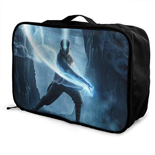 t Travel Lage Duffel Bolsa ligera maleta portátil Bolsas para mujeres hombres niños impermeable grande Bapa Caity