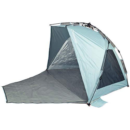 クイックキャンプ 2WAY サンシェード ブルー