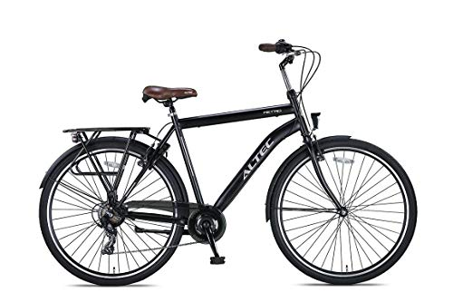 Altec 28 Zoll HERRENFAHRRAD CITYFAHRRAD City Bike Herren Rad Jugend Fahrrad CITYRAD Metro SCHWARZ 50 cm