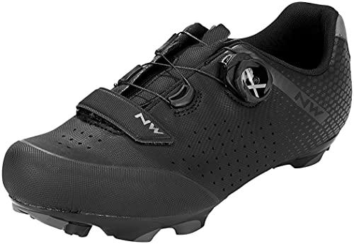 Northwave Origin Plus 2 2021 - Zapatillas para bicicleta de montaña, color negro y gris, Hombre, 80212005, negro y gris, 48 EU