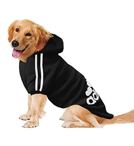 Izefia Rdc Pet Ropa para Perros Grandes Sudaderas con Capucha para Perro...