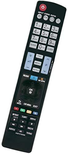 ALLIMITY AKB73756580 Fernbedienung Ersetzt für LG LED LCD TV 47LB630V 49LF630V 55LB630V 32LF630V 49UF6909 55LF6329 42LB630V 43LF6319 42LB630V 32LF6319 49LF6319 55LF6309 40LF6319