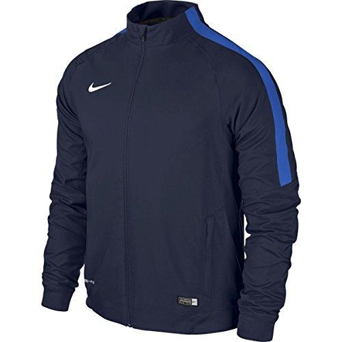 Nike Herren Squad 15 Sideline Woven Trainingsjacke Jacke Sideline Woven Squad 645476-451, Blau (Obsidian/Royal Blue/(White)), Gr.  S (Herstellergröße: S)