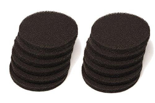 フルーバル 活性炭いっぱい濾過スポンジ Fluval FX5 / FX6 に適用できる 12個入
