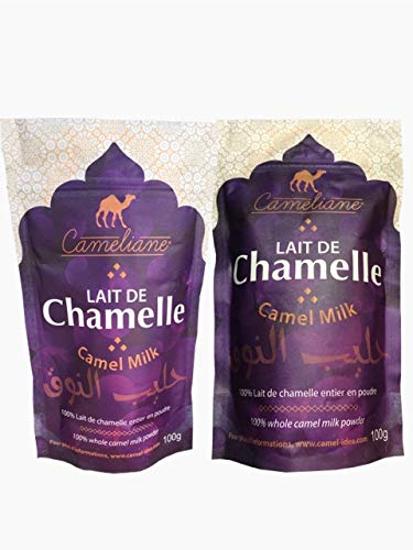 leche de camello en polvo