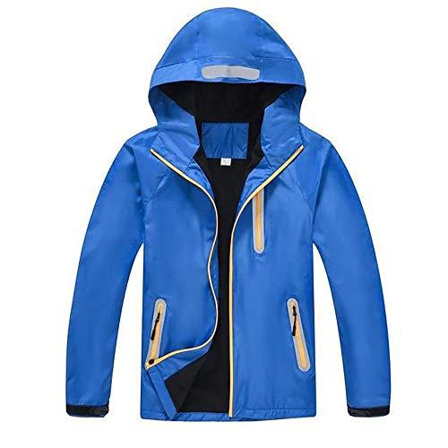 Gengyouyuan Outdoor hombres y mujeres más chaqueta gruesa de terciopelo tres en uno