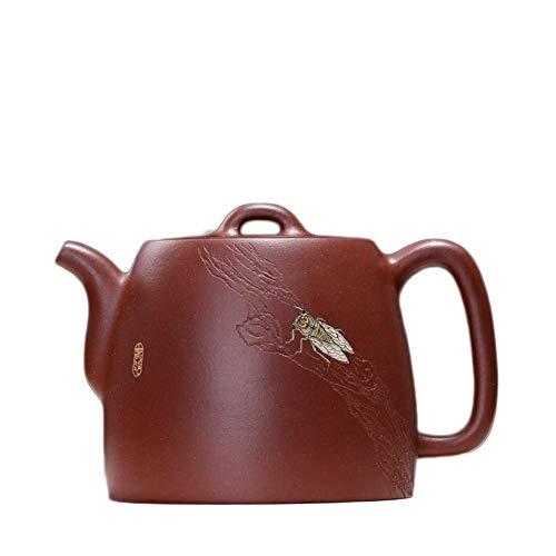 MYERZI Heat-Resistant Wang Ore Yixing Purple Clay Tea Pot teapot Large cicada Interesting Products Maker Ergonomic Grip