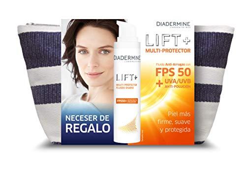 Diadermine - Pack Neceser de Regalo Lift+ Multiprotector FPS50 Anti-Arrugas - 50 ml