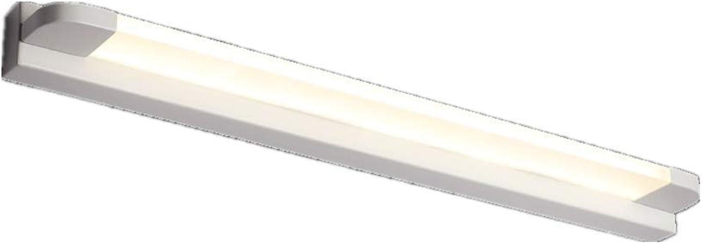 Wandleuchten luckyNO.1 Led-Badezimmerspiegelschrank Licht Schminktischlampe, Schwarz Weies Licht 56Cm Wandlampe