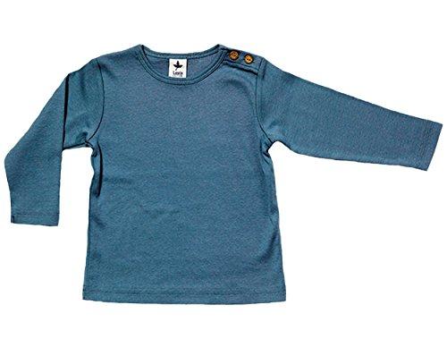 Leela Cotton baby/kinderen lange mouwen shirt biologisch katoen