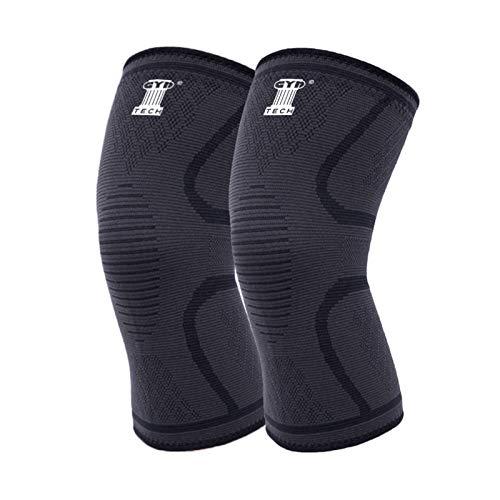 Kniebandagen GymTech x2 Knieschoner für Sport Fitness Joggen Damen Herren