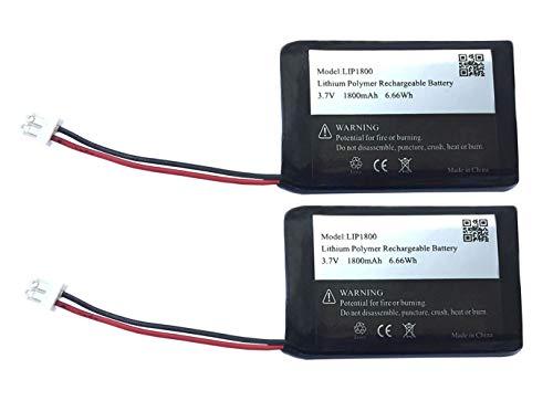 3,7 V 1800 mAh Ersatzakku Akku für Sony DualShock 4 Cuh-zct1u Sony Controller PS4 Cuh-zct1e Ersatzakku Batterie - 2 Stück