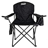 Coleman Camping Chair with 4 Can Cooler | Chair with Built In 4 Can Cooler,...