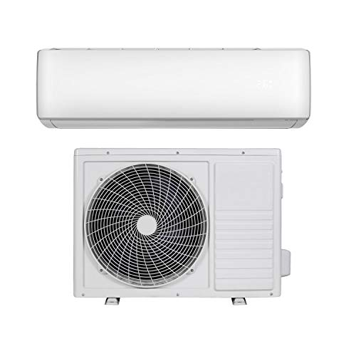18000 BTU Smart WiFi A++ Easy-fit DC Inverter Wall Split Air Conditioner with 5 Meters Pipe kit - Wall Mounted Air Conditioning Unit with 5 Years Warranty