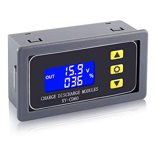 IS Low Voltage Disconnect, Digital Charging Timer Controller, Over Discharge Protector Module for DC 6V-60V Lithium Lead Acid Battery