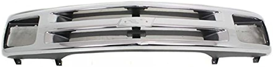 Koolzap For NEW 94-97 Chevy S10 Pickup Truck Grill Grille Assembly Chrome GM1200224 15672329