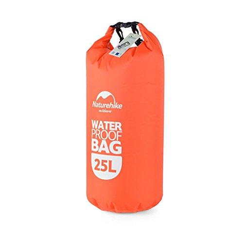 TRRE Voyage en plein air sacs étanches sac dérivantes snorkeling plage natation sac, 25L ( Couleur : Orange )