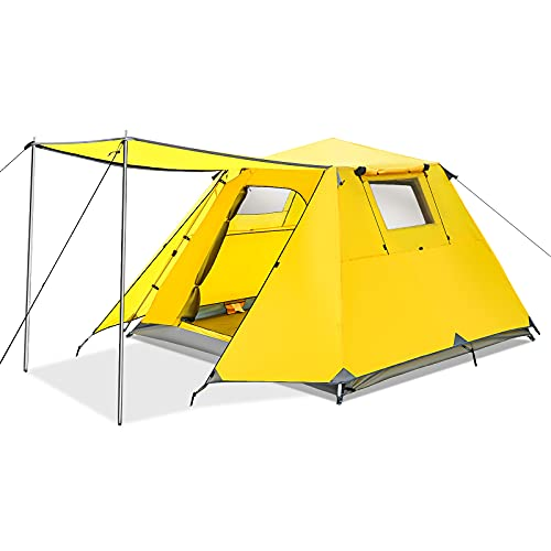 Camping Tent 4 Person Instant Setup Family Tent...