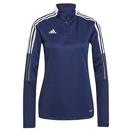 adidas Damen Tiro21 Tr Top W Pullover, Marineblau, L EU