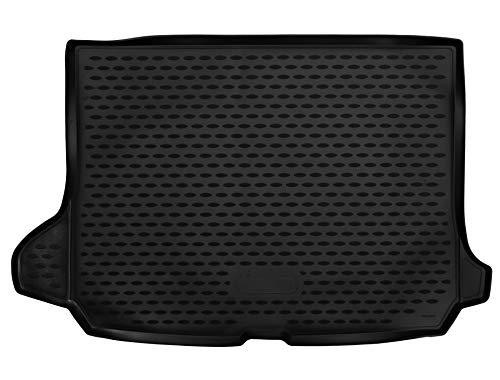 AD Tuning TM11014 Passform Gummi Kofferraumwanne, rutschfest, schwarz