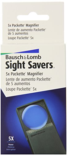 Loupe by Bausch & Lomb, 5X Packette Magnifier