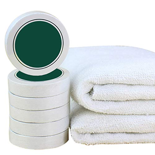 Reusable Compressed Towels Tablets - Cotton Compressed Towels White - 12 Pack